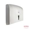 Palex Z-Fold Paper Towel Dispenser - White-Side-ACRA