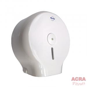 Palex Jumbo Toilet Paper Dispenser - White-side-ACRA