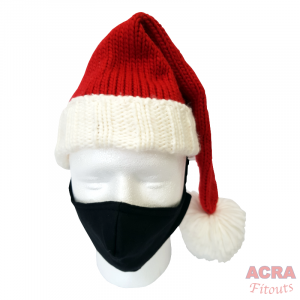 ACRA Fitouts Black Masks-Christmas