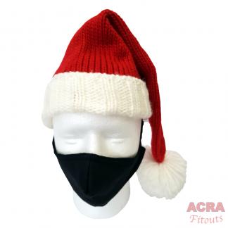 ACRA Fitouts Black Masks-Christmas