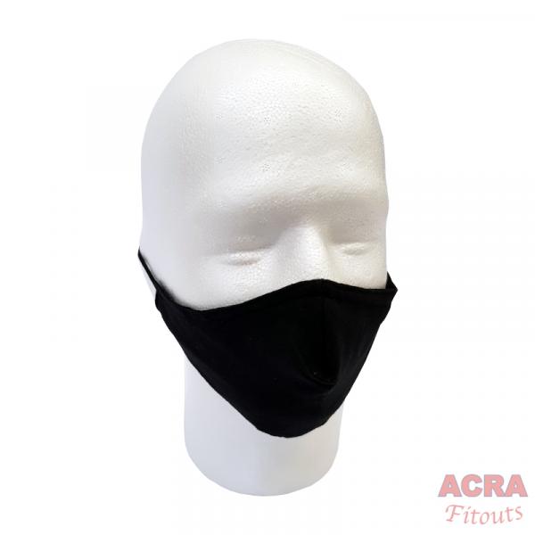 ACRA Fitouts Black Masks-ACRA