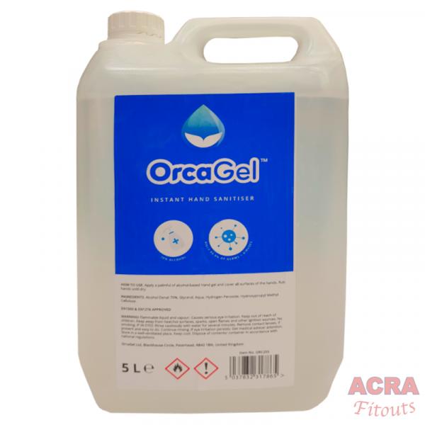 OrcaGel Instant Hand Sanitiser-ACRA