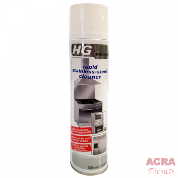 HG Rapid Stainless Steel Cleaner - ACRA