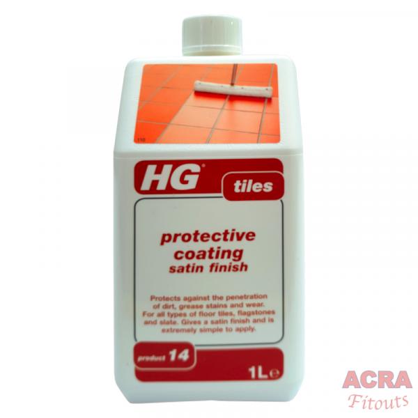 HG Tiles - Protective Coating Satin Finish - ACRA
