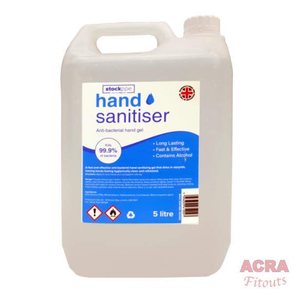 StockPPE Hand Sanitiser Anti-Bacterial Hand Gel - ACRA