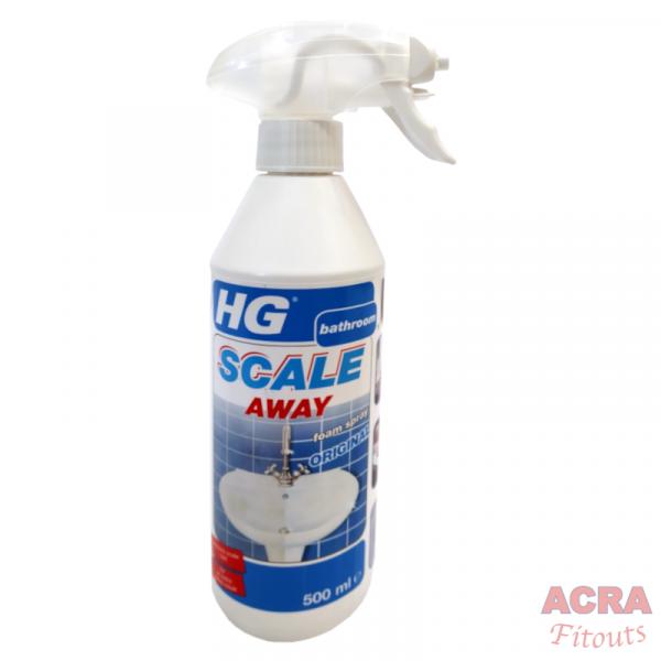 HG Bathroom – Scale Away Original Foam Spray - ACRA
