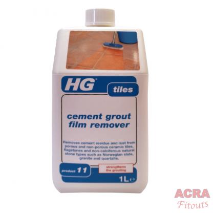 HG Tiles – Cement Grout Film Remover - ACRA