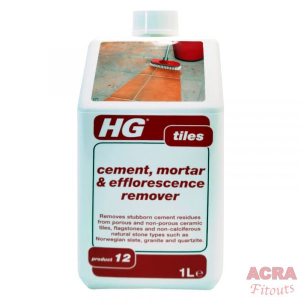 HG Tiles – Cement, Mortar and Efflorescence Remover (Product 12) - ACRA