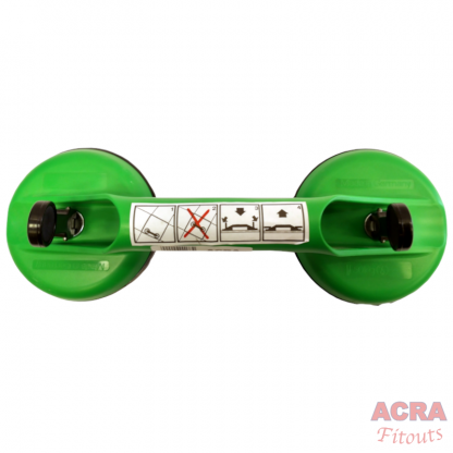 50kg 2-Head Suction Lifter Made in Germany - ACRA