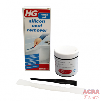 HG Tough Job Silicon Seal Remover with Brush and Spatula- ACRA