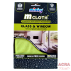 Minky M Cloth glass and window - front
