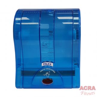 Palex Paper Sensor Dispenser - Transparent Blue - ACRA