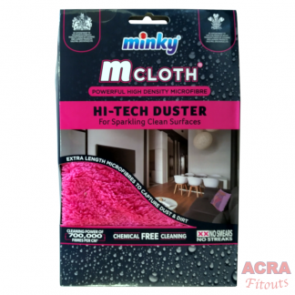 Minky Mcloth Hi-Tech Duster-front - ACRA