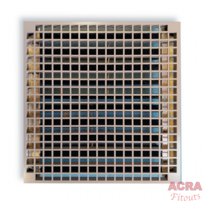 Airgrille with damper - ACRA